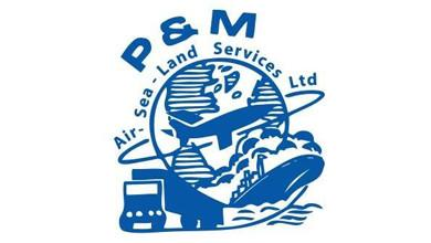 P&M Air-Sea-Land Services Ltd Logo